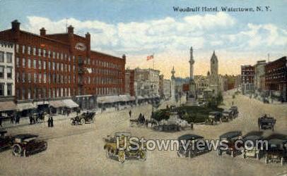 Woodruff Hotel - Watertown, New York NY Postcard