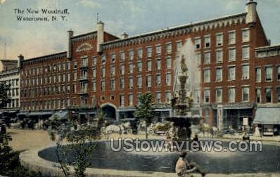 The New Woodruff - Watertown, New York NY Postcard