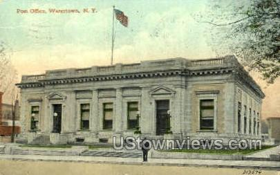Post Office - Watertown, New York NY Postcard