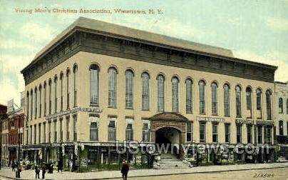 Young Men's Christian Assoc. - Watertown, New York NY Postcard