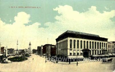 YMCA Bldg - Watertown, New York NY Postcard
