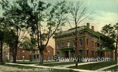 St. Joachims Hospital - Watertown, New York NY Postcard