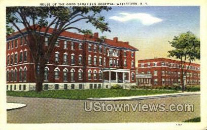 House of Good Samaritan Hospital - Watertown, New York NY Postcard