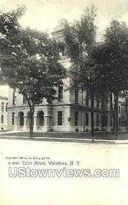 Court House - Watertown, New York NY Postcard