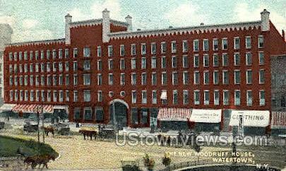 New Woodruff Hosue - Watertown, New York NY Postcard