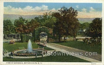 Watkins Glen, New York, NY Postcard