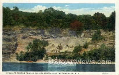 Seneca Lake - Watkins Glen, New York NY Postcard