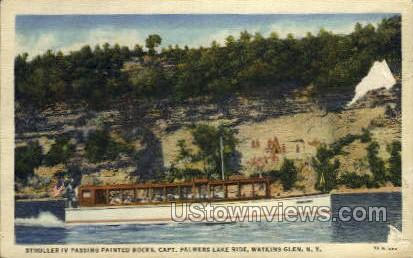 Palmers Lake Ridge - Watkins Glen, New York NY Postcard