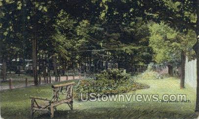 Keystone Park - Waverly, New York NY Postcard