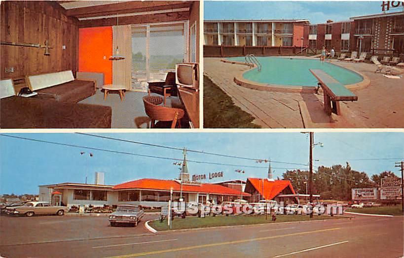 Howard Johnson's Motor Lodge - Watertown, New York NY Postcard