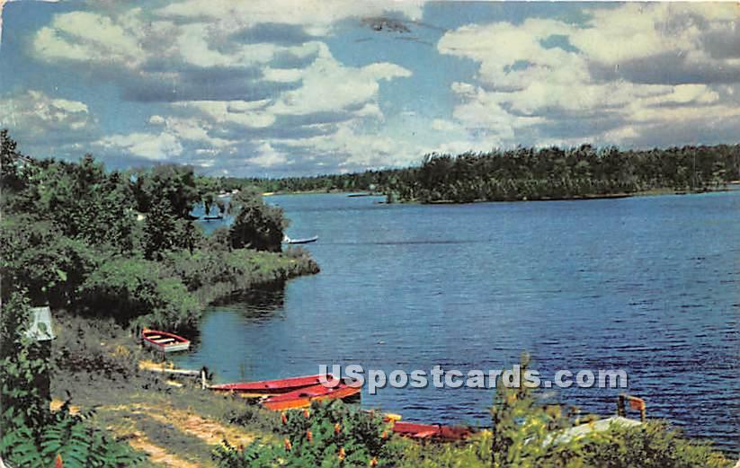 Lake - Watertown, New York NY Postcard