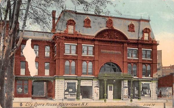 City Opera House Watertown, New York Postcard