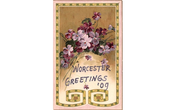 Greetings from Worcester, New York Postcard