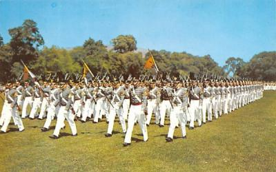 Corps on Parade West Point, New York Postcard