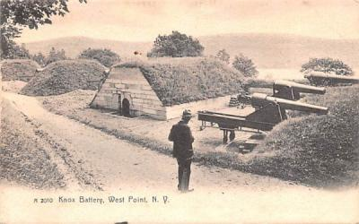 Knox Battery West Point, New York Postcard