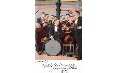 Band White Lake, New York Postcard