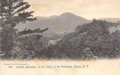 In the Valley of Wittenburg West Shokan, New York Postcard