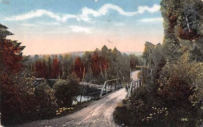 Bridge Watertown, New York Postcard