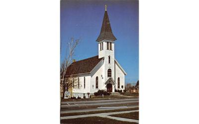 Immanuel Evangelical Lutheran Church Webster, New York Postcard