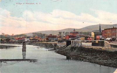Bridge Whitehall, New York Postcard