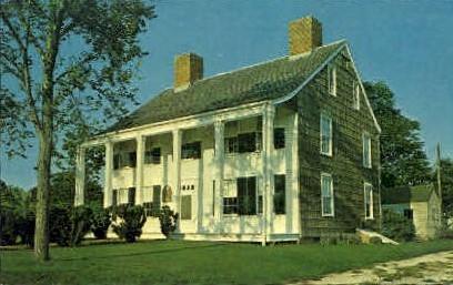 Historic Orange Webb House - Long Island, New York NY Postcard