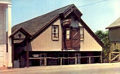 Roslyn Mill Tea House and Museum - Long Island, New York NY Postcard