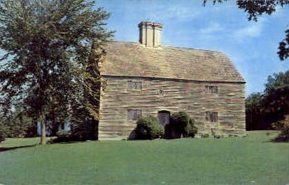 The Old House - Long Island, New York NY Postcard