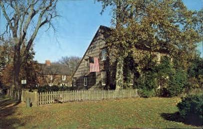 East Hampton, Old Mulford House - Long Island, New York NY Postcard