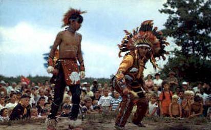 Shinnecock Indians - Long Island, New York NY Postcard