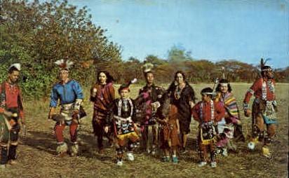 Shinnecock Indians, Dancers - Long Island, New York NY Postcard