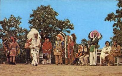 Shinnecock Indians, Chief - Long Island, New York NY Postcard