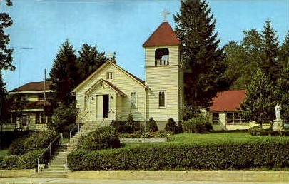 St. John the Baptist Church - Long Island, New York NY Postcard