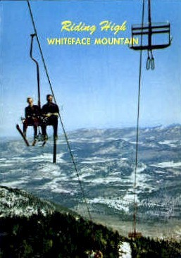 Whiteface Mountains - Adirondack Mts, New York NY Postcard