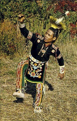 Shinnecock Indians, Hunters Dance - Long Island, New York NY Postcard
