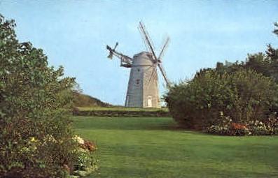 Hay Ground Mill East Hampton - Long Island, New York NY Postcard