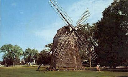Old Mill at Sag Harbor & Water Mill - Long Island, New York NY Postcard