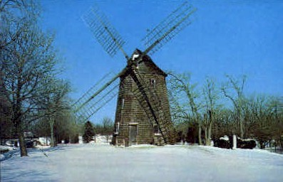 Old Windmill East Hampton - Long Island, New York NY Postcard