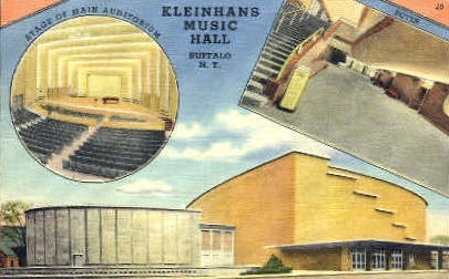 Kleinhans Music Hall - Buffalo, New York NY Postcard