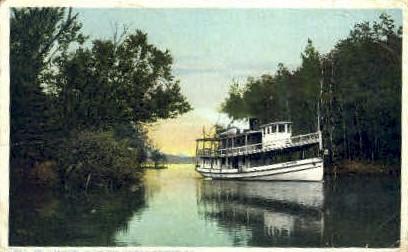 Clearwater Fulton Chain - Adirondack Mts, New York NY Postcard