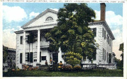 Washington Headquarters  - Bronx, New York NY Postcard