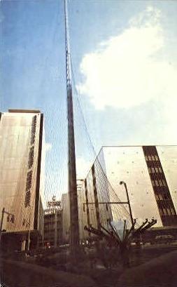 The Liberty Pole - Rochester, New York NY Postcard