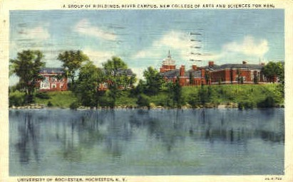 River Campus University of Rochester - New York NY Postcard