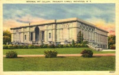 Memorial Art Gallery, University Campus - Rochester, New York NY Postcard