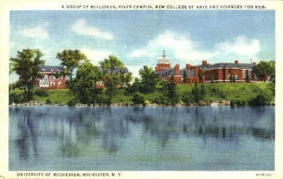 University of Rochester - New York NY Postcard