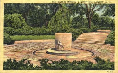 Eastman Memorial in Kodak Park - Rochester, New York NY Postcard