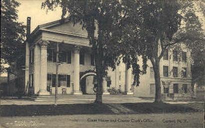 Court House & County Clerk Office - Carmel, New York NY Postcard