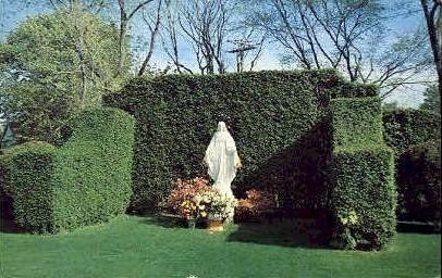 St. Philomena's Church - Long Island, New York NY Postcard