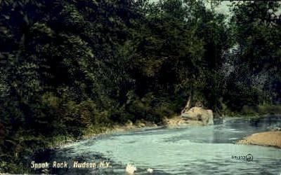 Spook Rock - Hudson, New York NY Postcard