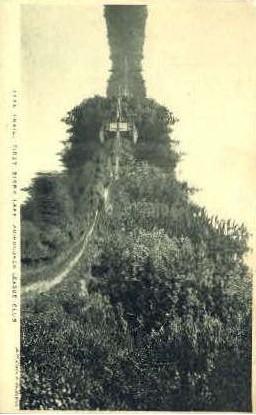 First Bisby Lake - Adirondack Mts, New York NY Postcard