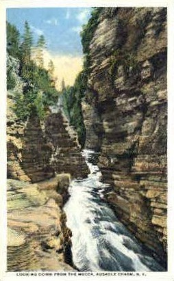 The Mecca - Ausable Chasm, New York NY Postcard